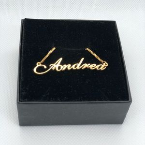 Jewelry - 14K Gold Plated Necklace - Andrea